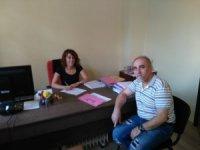 56 yaşında Trakya Üniversitesi Güzel Sanatlar Fakültesi'nde