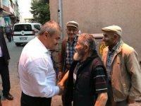 Milletvekili Cumhur Ünal Yortan esnafını ziyaret etti