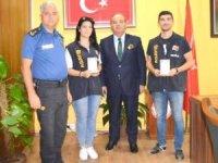 Menteşe'de başarılı polisler ödüllendirildi