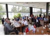 Başkan Baran muhtarlar toplantısına katıldı