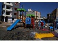 Turgutlu'da parklar artık daha da renkli