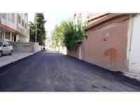 Bahçelievler Mahallesinde asfalt çalışması yapıldı