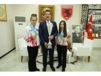 Başkan Erdoğan Tok'tan dünya şampiyonu kızlara altın