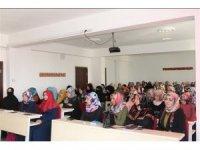 Ağrı'da kız Kur'an kursu öğreticileri için toplantı yapıldı