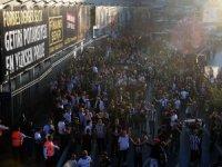 Beşiktaş taraftarı, Ülker Stadyumu'na geldi