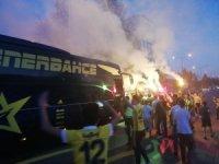 Fenerbahçe, tesislerden ayrıldı