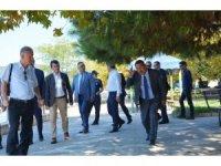 Başkan Uysal sahil için talimat verdi