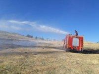 Bingöl'de toprak altından çıkan duman tedirgin etti