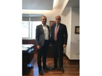 Ereğli TSO Yönetim Kurulu Başkanı Keleş, OYAK Otomotiv ve Lojistik Grup Başkanı ile görüştü