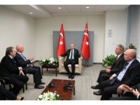 Cumhurbaşkanı Erdoğan, BM Genel Sekreteri Guterres ile görüştü