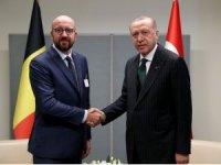 Cumhurbaşkanı Erdoğan, Belçika Başbakanı Charles Michel'i kabul etti