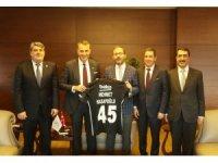 Beşiktaş'tan Bakan Kasapoğlu'na ziyaret