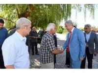 Başkan Polat, vatandaşlar bir araya geldi