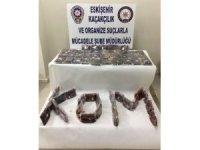 Kaçak 60 paket nargile tütünü ele geçirildi