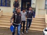 Yalova'daki trafik magandası tutuklandı