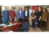 Genel Başkan Çelik Amasya'da AFAD personeliyle buluştu