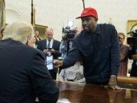 Kanye West, Trump'ı bile şaşkına çevirdi