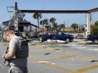 Michael Kasırgası, ABD üssünü yerle bir etti
