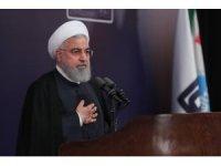 """İran Cumhurbaşkanı Ruhani: """"ABD'nin hedefi İran'da rejim değişikliği"""""""