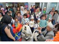 Kırşehir'de 232 çocuk erkekliğe ilk adımını attı