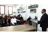 Burhaniye'de Erdil belediye başkanlığı için aday adayı oldu