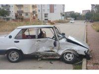Ehliyetsiz sürücünün karıştığı kazada, 1'i çocuk 3 kişi yaralandı