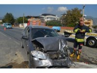 Söke'de kaza; 3 yaralı