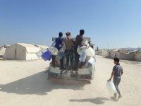 Suriyelilere 4 ayda 1 milyon litre su dağıtıldı
