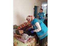 Nevşehir Ağız ve Diş Sağlığı Merkezi 119 hastaya evde bakım hizmeti verdi