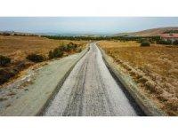 Bulgurlu, Göller, Karakaş Çiftliği yolu asfaltlandı