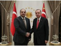 Cumhurbaşkanı Erdoğan, Katar Savunma Bakanını kabul etti