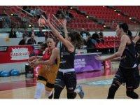 Kadınlar Basketbol Süper Ligi: Bellona Kayseri Basketbol: 69 - Çukurova Basketbol: 73