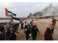 İsrail askerleri gerçek mermi kullandı: 80 Filistinli yaralı