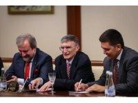 Aziz Sancar, Özbekistan Başbakan Yardımcısı tarafından kabul edildi