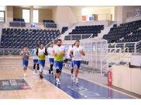 Denizli Basket Kepez maçı hazırlıklarını sürdürüyor