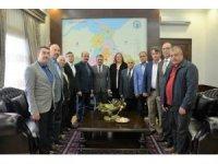 İspanya'dan dönen muhtarlar Vali Yazıcı'yı ziyaret etti