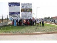 Belediye Tesislerine vatandaşların ziyareti sürüyor