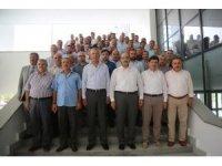 İmam ve din görevlileri, Mezitli Belediyesi'nin konuğu oldu