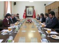 Avrupa Parlamentosu Türkiye Raportörü Kati Piri, TBMM'de muhalefet partileri ile görüştü