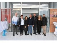 Gafur Uzunel Süleymanpaşa'da Seyir Defteri sergisini açtı