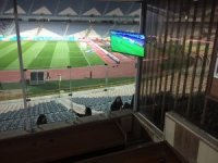 İranlı kadınların stadyumda maç heyecanı