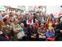 Burhaniye'de Akova da aday adaylığını açıkladı