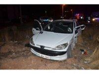 İki kardeşin otomobilleri çarpıştı: 9 yaralı