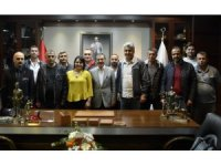 Genel-İş'ten Başkan Ataç'a ziyaret