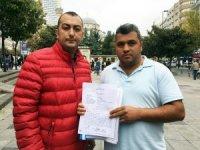 Sütlüce'de yıkılan bina sakinleri, Arda Turan ve kardeşi Okan Turan'dan şikayetçi oldu
