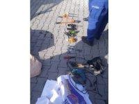Emet'te kablo hırsızlığı