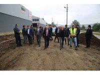 Başkan Tezcan, projeleri yerinde inceledi