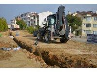 Ertuğrulgazi Mahallesinde yeni yağmur suyu hattı yapılıyor