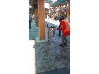 Şehir temizliği için Belediye görevlileri 7/24 mesaide