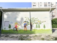 Trafo binaları sanat eserine dönüşüyor